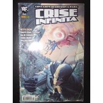 Gibi Crise Infinita # 4 De 6 Panini 2006 Formato Americano