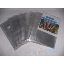 Kit C/100 Sacos Plásticos P/ Gibis:formato Americano(18x30)