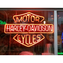 Arte Em Neon Luminosos De Neon Heineken Budweiser Harley Etc