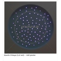 Iluminação Efeito Céu Estrelado Fibra Óptica - 100 Pontos