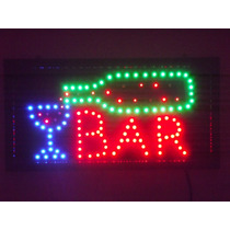Letreiro Luminoso Placa De Led Bar