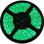 Fita De Led Verde Com Silicone 300 Leds Smd 3528 12v Rolo 5m