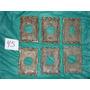 8 Placas De Bronze Antigas Interruptores E Tomadas