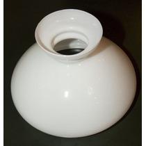 Cúpula De Vidro Leitosa Lampião 16 - Cod. 30917