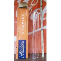 Manga (vidro) Para Lampião Antigo Alladin Modelos B E C