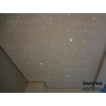Iluminação Efeito Céu Estrelado Fibra Óptica - 80 Pontos