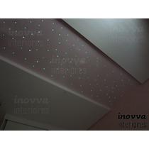 Iluminação Efeito Céu Estrelado Fibra Óptica - 120 Pontos