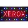 Placa De Led Letreiro Luminoso Xerox 1618 110v