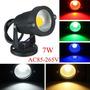 7w Ac 85-265v 1000-1100lm Ip65 Impermeável Luz De