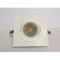 Kit Spot Led Direcionável Lâmpada Dicroica Gu-10 5w B.frio