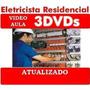 Curso Eletricista Residencial Predial Em 3 Dvds