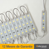 Módulo 5050 Smd 3-led Ip65 Branco 12volts
