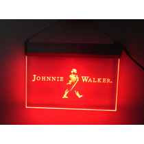 Placa Luminosa Neon - Johnnie Walker