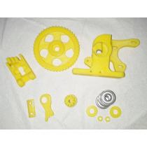 Kit Peças Plásticas Para Extrusor Para Reprap Impressora 3d