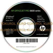 Cd De Instalação Impressora Hp Officejet Pro 8600 (xv78)