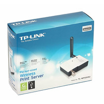 Servidor De Impressão Tp-link Wireless Usb 2.0 Tl-wps510u