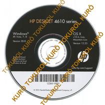 Cd De Instalação Impressora Hp Deskjet 4615 (xv78)