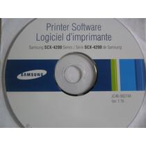 Cd De Instalação Para Impressora Samsung Scx-4200 Series