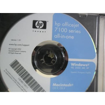 Cd De Instalção Para Impresora Hp Officejet 7100 Series.