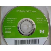 Cd De Instalação Para Impressora Hp Deskjet F4200.