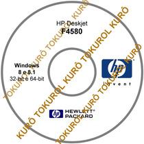 Cd De Instalação Impressora Hp Deskjet F4580 (8_8.1)