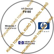 Cd De Instalação Impressora Hp F4180 (7) Frete Grátis