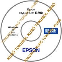 Cd De Instalação Impressora Epson R290 (xv7) Frete Grátis