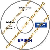 Cd De Instalação Impressora Epson T25 (xv7) Frete Grátis