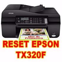 Destravar Epson Tx320f (reset Ilimitado)