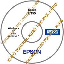 Cd De Instalação Impressora Epson L355 (xv7)