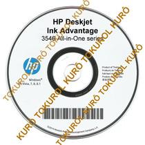 Cd De Instalação Impressora Hp Deskjet 3546 (xv7881)