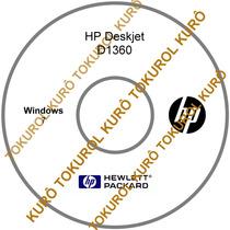 Cd De Instalação Impressora Hp Deskjet D1360 (7)