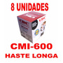 8 Unidades Fita Cdc Cmi-600 Haste Longa Nylon Preto