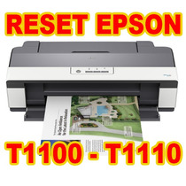 Reset Epson T1100- T1110( Almofadas) Ilimitado