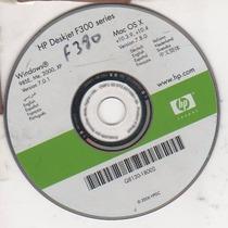 Cd De Instalação Para Impressora Hp Deskjet F38-f300