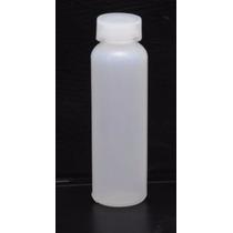 Kit 100 Flaconete Plástico De 20ml Tampa De Pressão