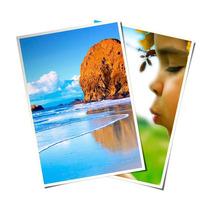 Papel Glossy Fotográfico Brilhante Laser A4 200g Pct 100 Fls