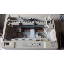 Carcaça Tampa Inferior E Superior Impressora Epson Lx-300