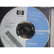 Cd De Instalção Para Impresora Hp Officejet 7100 Series