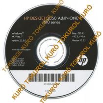 Cd De Instalação Impressora Hp Deskjet 3050 (xv7)