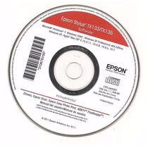 Cd De Instalação Da Imprenssora Epson Stylus Tx 133/tx135