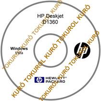 Cd De Instalação Impressora Hp Deskjet D1360 (vista)