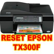 Destravar Epson Tx300f ( Reset-almofadas)