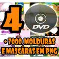 +7000 Máscaras Digitais E Molduras Em Png Profissionais