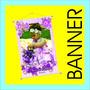 Banner Impressão Digital 40x60cm Propaganda Festas Empresas