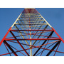 Torre Antenas Autoportante Via Radio Fm Wireless 9 A 36 Mt
