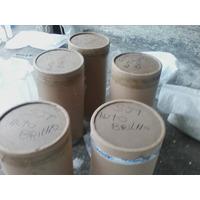 Pasta Para Polimento De Aluminioem Maquina Vibratória.