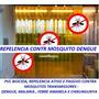 Cortina Pvc Anti Inseto Repele Nosquito Dengue Malaria Etc..