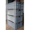 Caixa Plástica Fechada 62x41 - Contentor / Laticínio