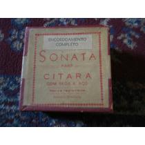 Encordoamento Citara Sonata -com Seda E Aço - Enfeite Antigo